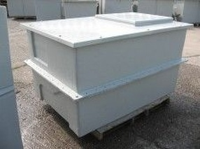 Two Piece Water Storage Tanks by Precolor Sales Ltd.