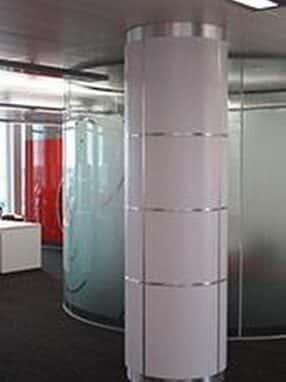 Internal & External Column Casing by Encasement Ltd.