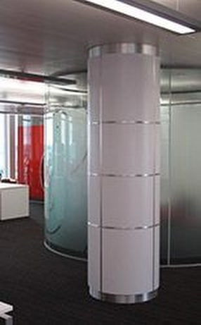Internal & External Column Casing by Encasement Ltd.
