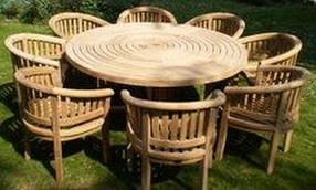 Teak Furniture Garden Sets by Chairs and Tables Ltd.