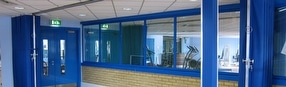 Commercial Folding Partition Systems by Building Additions Ltd.