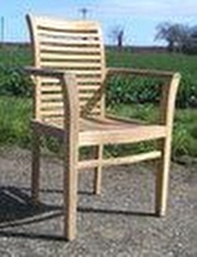 Teak Garden Chairs by Chairs and Tables Ltd.