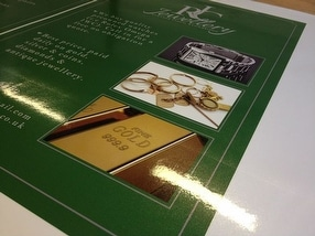 Promotional Branded Posters & Clip Frames by Customised Signs