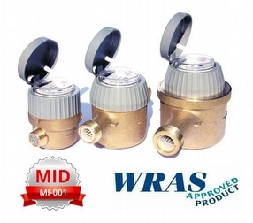 RTK 15 WRAS Approved Cold Water Meter by DMS Flow Measurement & Controls Ltd.