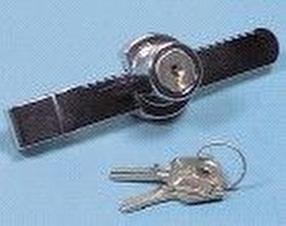 Glass Sliding Door Ratchet Lock by Keysplease (Ammerhurst Ltd)