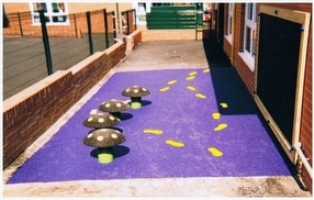 Soft Bond Rubber Mulch by Nationwide Safety Surfaces Ltd