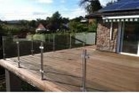 Indoor Stainless Steel Balustrade Systems by Stainless Handrail Systems Ltd