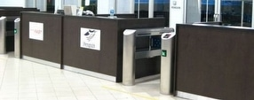 Pedestrian Speed Gates by Expert Security Systems UK
