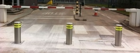 Automatic Rising Bollards by Expert Security Systems UK
