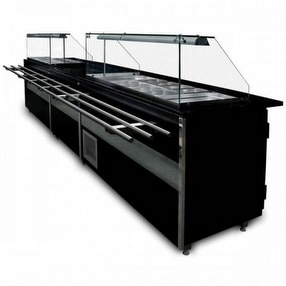 Salad and Buffet Bars by Corr Chilled UK Ltd.