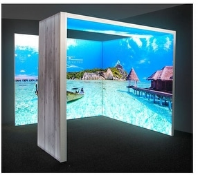 Backlit Display Stands & Light Boxes by Expand International (GB) Ltd.