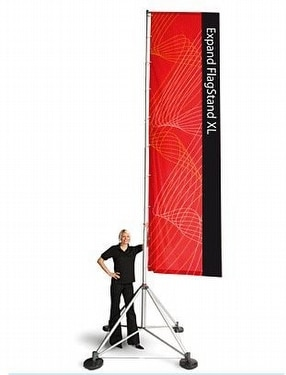 Expand FlagStand XL by Expand International (GB) Ltd.