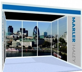 Shell Scheme Graphic Panels by Marler Haley Ltd