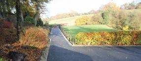 Golf Club Pathways Sheffield by Nationwide Safety Surfaces Ltd