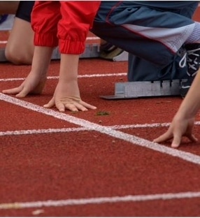 Athletics Facilities Surfacing Bolton by Nationwide Safety Surfaces Ltd