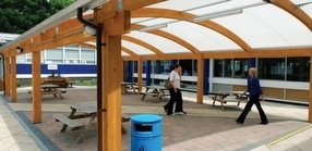 Bespoke Sustainable Timber Canopies by Fordingbridge Plc.