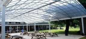 Custom Built Steel Canopies by Fordingbridge Plc.
