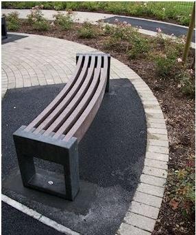 Canvas 30 Bench by Goplastic Ltd