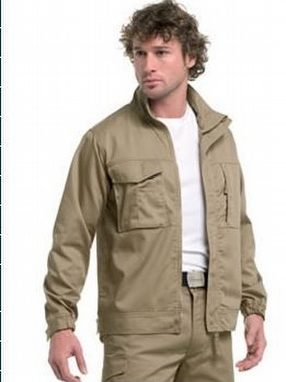 Polyester/Cotton Twill Work Wear Jacket by Maverick Promotions (Logos 4 Clothes)