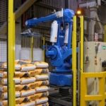 Used Blu-Robot Palletising Systems by Pacepacker Services Ltd