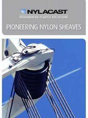 Nylacast Machined Application Nylon Sheaves by Nylacast Ltd