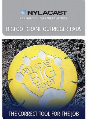 Nylacast Bigfoot Crane Outrigger Pads by Nylacast Ltd