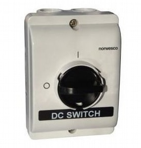 3 Pole Safety Switch Steel by E-UK Controls
