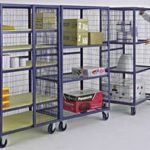 Mobile Security Cages by Stakrak Ltd