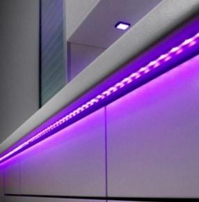 Shift Linkable LED Bathroom Strip Lights by LDL Components Ltd