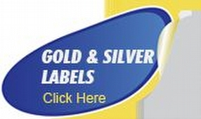 Gold and Silver Labels by Shop4Labels