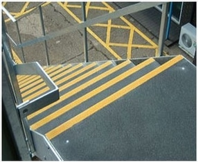 SlipGrip Stair Tread Covers by Fibregrid Ltd.