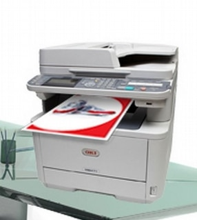 MC562 A4 Colour All-in-One Multifunction Printer by OKI