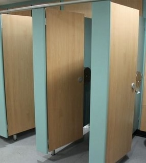 Toilet Cubicles by Edge Design Washrooms Limited