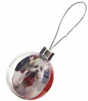 Promotional Christmas Tree Baubles by Plastics-direct.co.uk