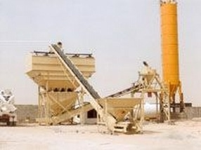 Concrete Batching Plants by Steelfields Limited