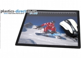 Promotional Insertable Mouse Mat by Plastics-direct.co.uk