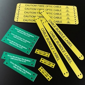Engraved Tie-on Labels by Ask Engraving