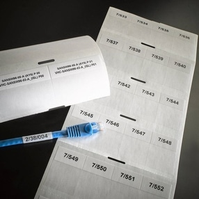 Wrap-around Cable Labels by Ask Engraving