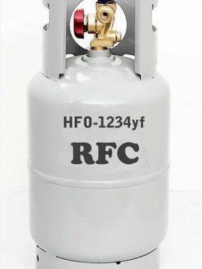 AC Refrigerant HFO-1234yf or simply R1234yf by Aircon Direct 4 Cars