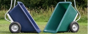 Wheelbarrows 2 & 3 Wheeled by Goodwin Plastics Ltd.