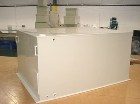 Bespoke Polypropylene Water Tanks by Goodwin Plastics Ltd.