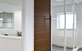 Glass Partitions by APSS, Acorn Partition and Storage Systems