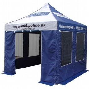 Police and Forensic Work Tents by Sheerspeed Shelters Ltd