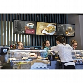 Digital Menu Board by Park Lane Displays