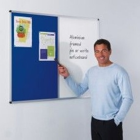 Aluminium Framed Noticeboards by Display Components