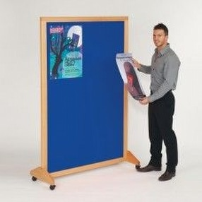 Wood Effect Framed Notice Boards by Display Components