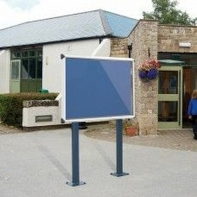 Shield Exterior Noticeboards by Display Components