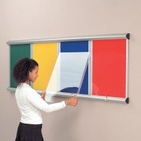 Shield Noticeboard Showcases by Display Components
