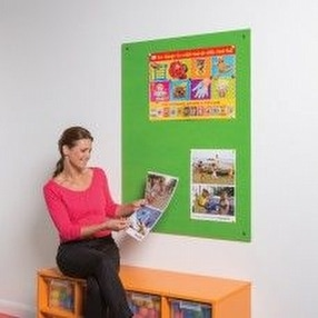 Unframed Notice Boards by Display Components
