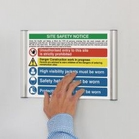 Wall Mounted Signage by Display Components
